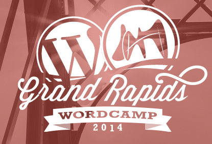 WordCamp Grand Rapids 2014 logo